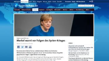 """Permalink auf:Bundeskanzlerin Merkel fordert den Staatspräsidenten der Türkei auf, """"Militäroffensive"""" gegen YPG umgehend zu beenden"""